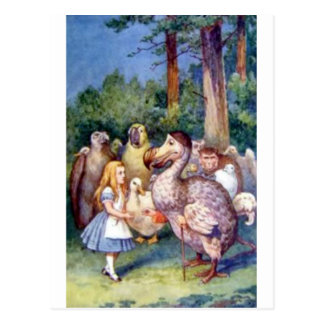 Alice & the Dodo in Full Color Postcard