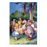 Alice & the Dodo in Full Colour Postcard