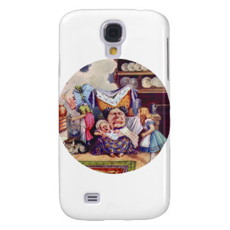 Alice the Duchess and the Pig Baby Galaxy S4 Cover
