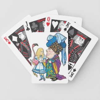 Alice & the Duchess Color Bicycle Playing Cards