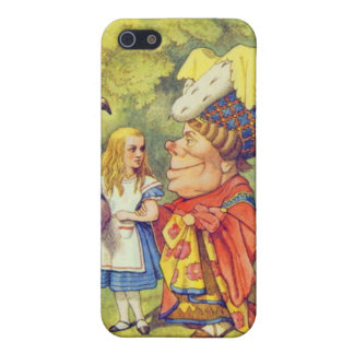 Alice & the Duchess Color iPhone 5/5S Cases