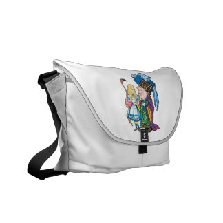Alice & the Duchess in Color Messenger Bag