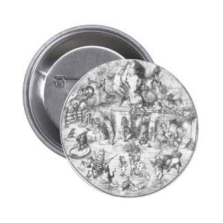 Alice & the Gang 6 Cm Round Badge