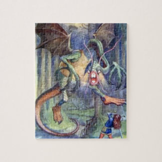 Alice & the Jabberwocky Full Color Puzzle