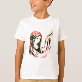 Alice & the Key by Lewis Carroll Pink Tint Tee Shirt
