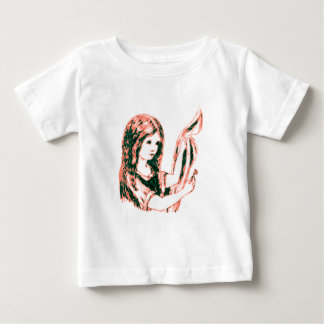 Alice & the Key by Lewis Carroll Pink Tint Shirt