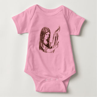 Alice & the Key by Lewis Carroll Sepia Tint Tshirts