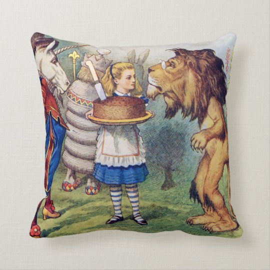 Alice, The Lion and The Unicorn in Wonderland