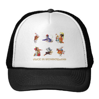 Alice , The Mad Hatter and Other Friends Cap