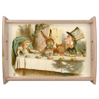 Alice & The Mad Tea Party - Serving Tray