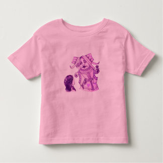 Alice & the Queen by Lewis Carroll Purple Tint Shirts