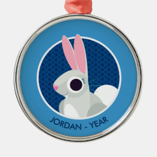 Alice the Rabbit Christmas Ornament