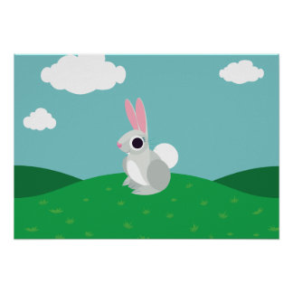 Alice the Rabbit Poster