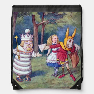 Alice & the White King Backpack