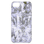 Alice & the Wonderland Gang Blue Tint iPhone 5C Cases