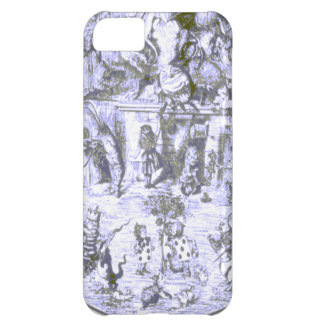 Alice & the Wonderland Gang Blue Tint iPhone 5C Case