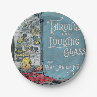 Alice Through The Looking Glass Paper Plate