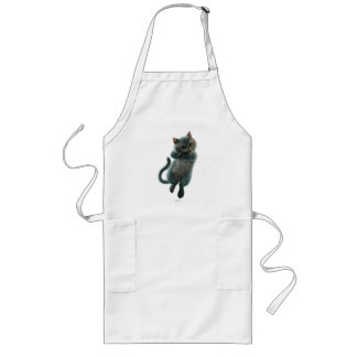 Alice Thru the Looking Glass | Cheshire Cat Grin Long Apron