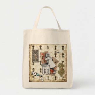 Alice Grocery Tote Bag