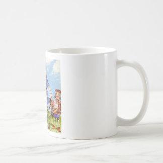 Alice Transforms Into Queen Alice In Wonderland Basic White Mug