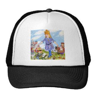 Alice Transforms Into Queen Alice In Wonderland Trucker Hat