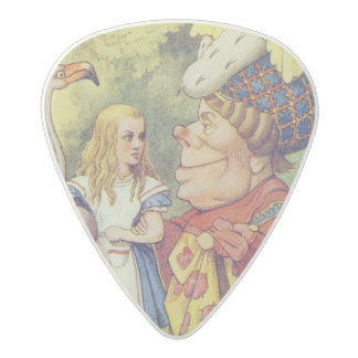 Alice with the Duchess Acetal Guitar Pick