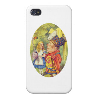 Alice with the Duchess Case For iPhone 4