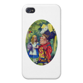 Alice with the Duchess Cases For iPhone 4