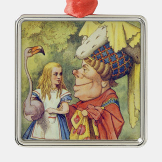 Alice with the Duchess Christmas Ornament
