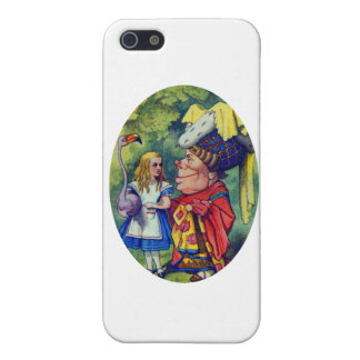 Alice with the Duchess iPhone 5/5S Cover