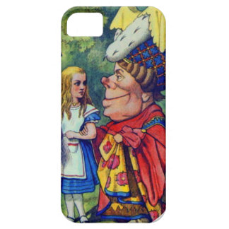 Alice with the Duchess iPhone 5 Cases