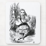 Alice with the Pig Mouse Pad