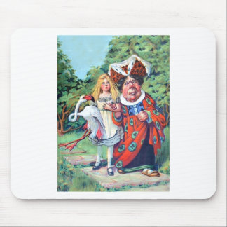 Alice's Adventures in Wonderland Mouse Pad