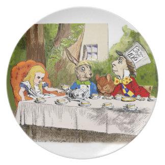 Alice's Adventures in Wonderland Plate