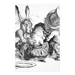 Alice's Adventures in Wonderland Customized Stationery