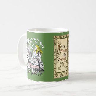 Alice's Adventures Under Ground Art Coffee Mug