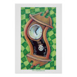 Alice's Clock Poster