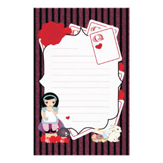 Alice's Notes Personalised Stationery