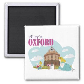 Alice's Oxford 5.1 Cm Square Magnet