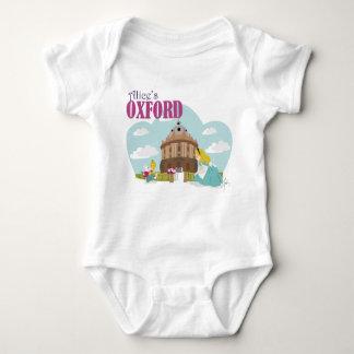 Alice's Oxford Baby Jersey Bodysuit, White Baby Bodysuit