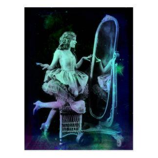 Alicia - Blue Green Dream Postcard