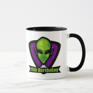 Alien 11th Birthday Gifts Mug