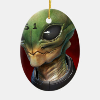 Alien 51 christmas tree ornaments