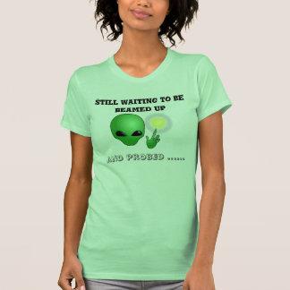 Alien abduction and Probe Women's T-Shirt