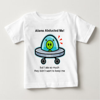 Alien Abduction Baby T-Shirt