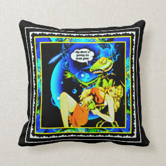 Alien Abduction Cushion