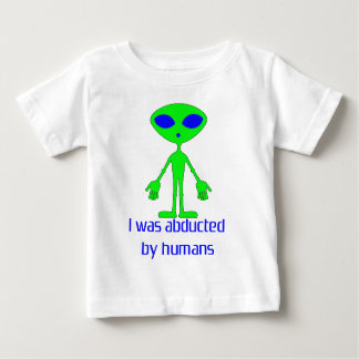 Alien Abduction Design Baby T-Shirt