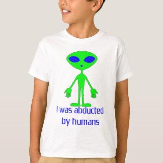 Alien Abduction Design T-Shirt