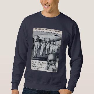 ALIEN ABDUCTION DUMB HUMANS Sweatshirt