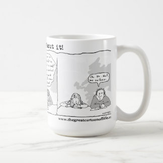 Alien Abduction?-- Forget about it! Basic White Mug